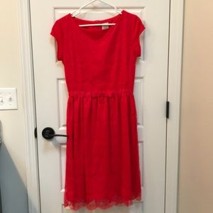 Never been worn- Shabby Apple red Alice dress